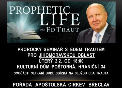 Prorok Ed Traut opět v České republice