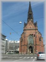 Katolíci a protestanti v Brně, historie Červeného kostela